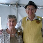 Anne and F.C. Ring on Their 50th Wedding Anniversary