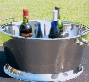 21 in. Stainless Beverage Tub