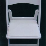 White Chair - Available in Wood or Resin